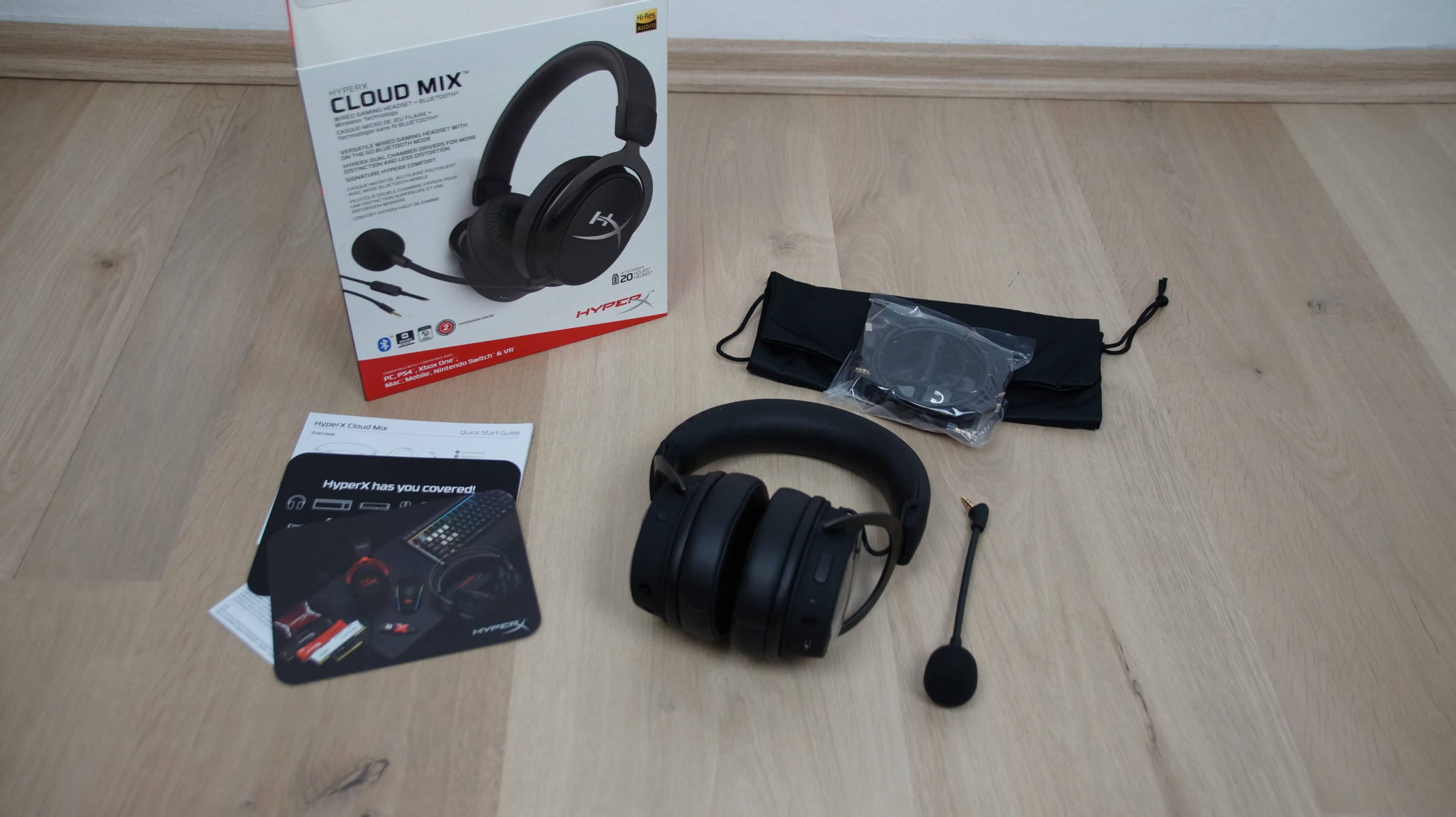 Review Of The Hyperx Cloud Mix Gaming Headset