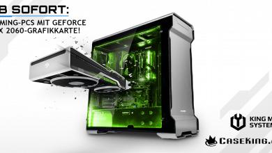 Photo of Caseking: Gaming-PCs mit NVIDIA GeForce RTX 2060-Grafikkarten ab sofort verfügbar