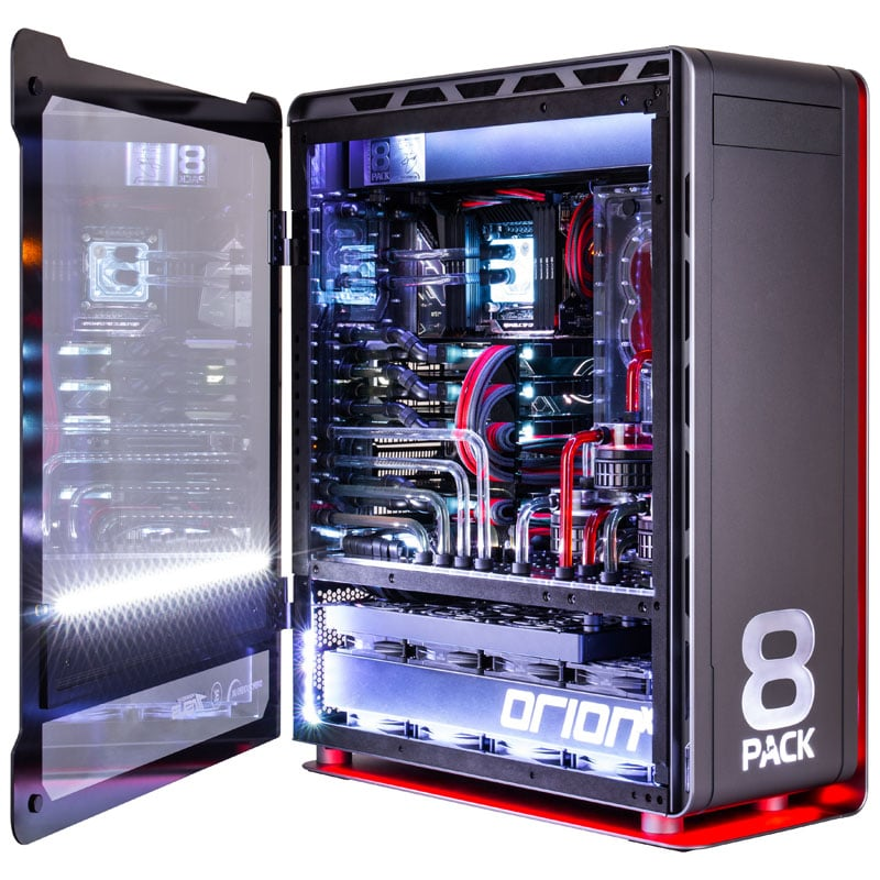 8Pack Orion X2: OCUK Updates Probably the Fastest System in