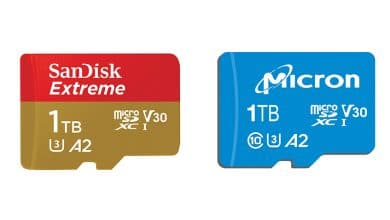 Photo of Micron and SanDisk Unveil 1TB MicroSD Cards