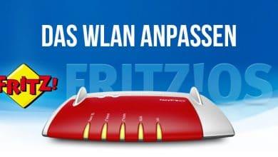 Photo of FRITZ!Box-WLAN: Netzwerknamen und Passwort ändern