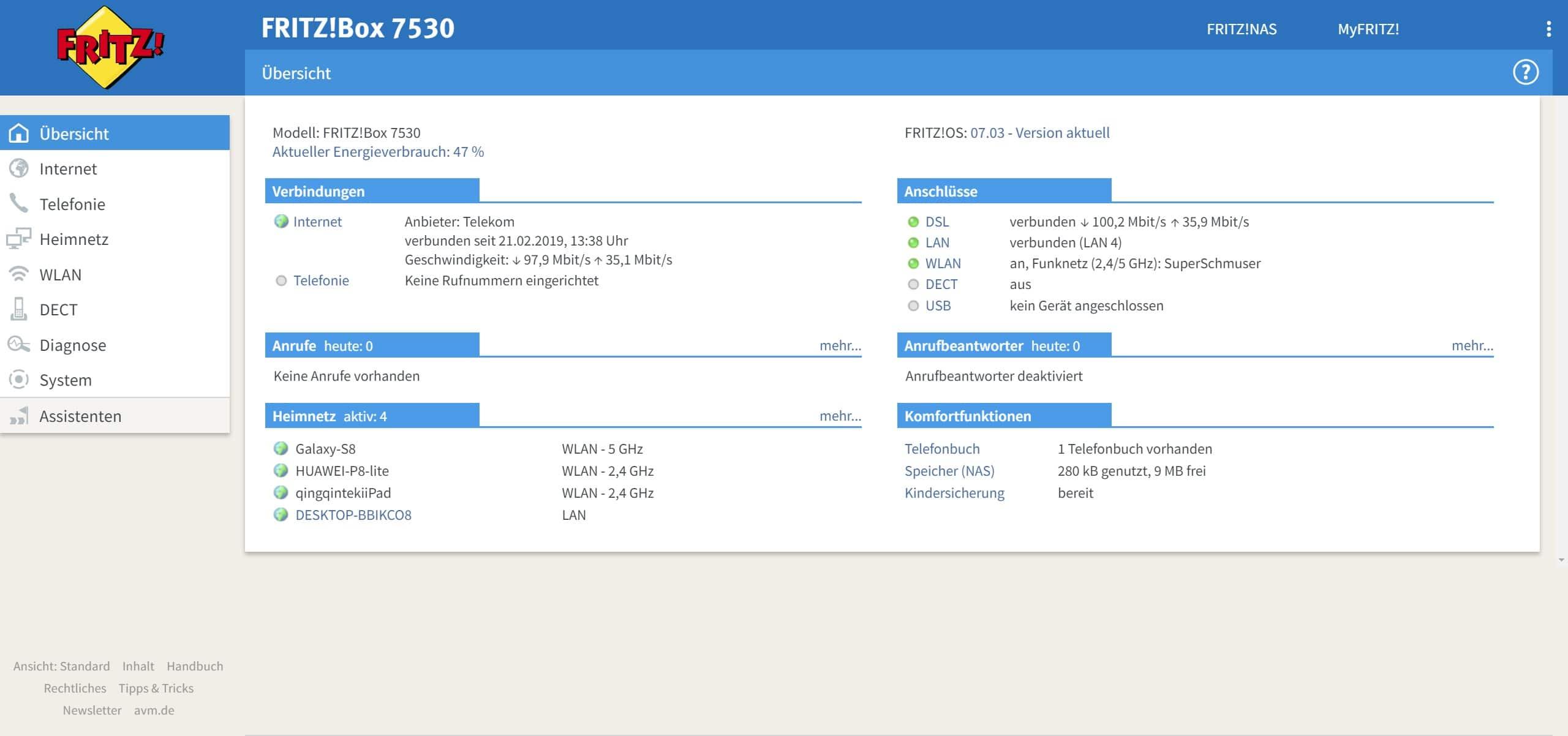 FRITZBox 20 VDSL Vectoring Router im Test