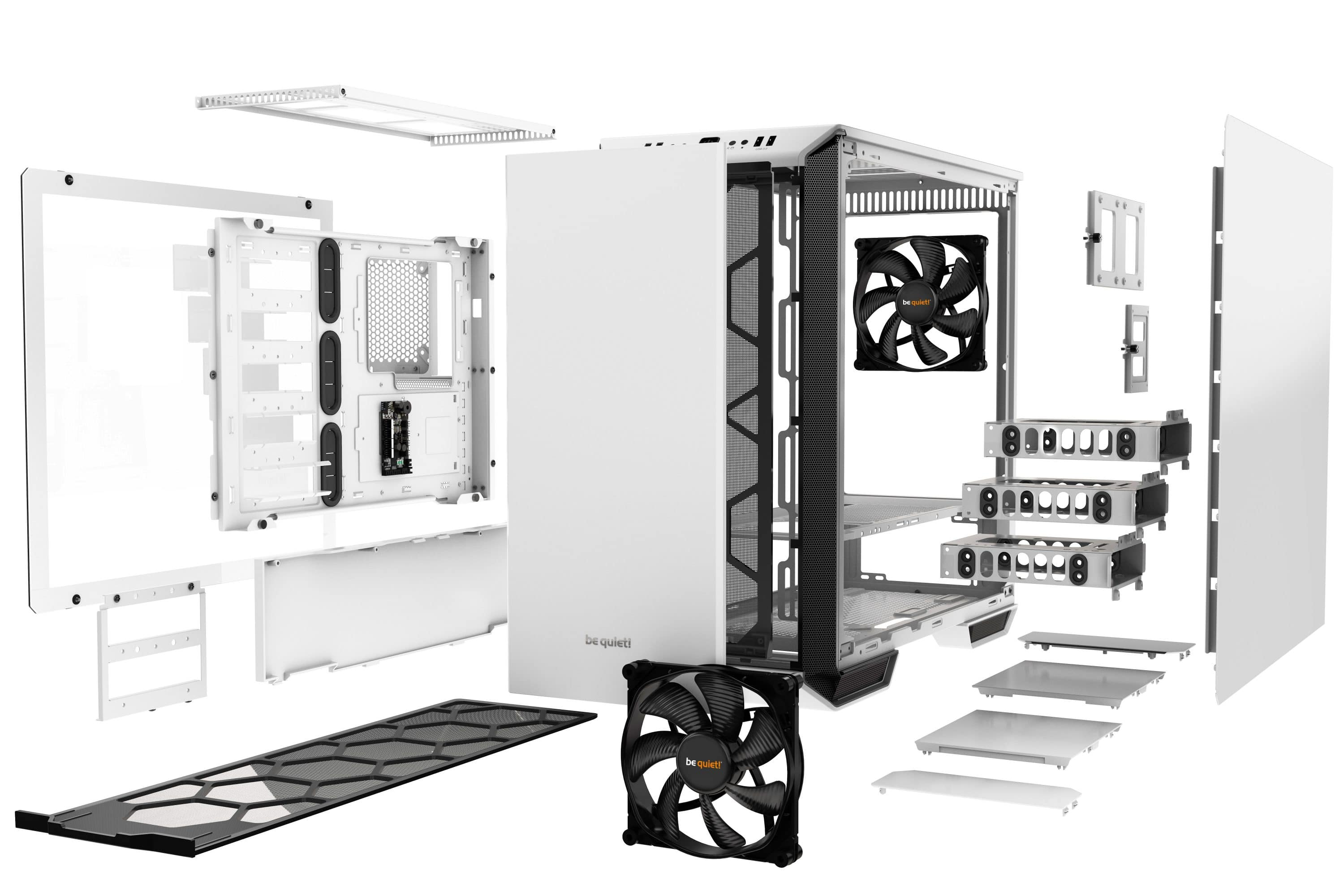 be quiet! Introduces limited Dark Base 700 White Edition