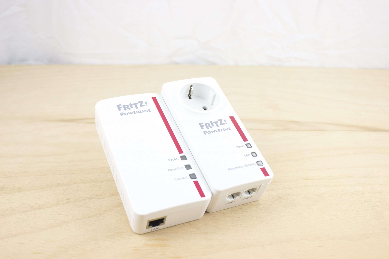 AVM FRITZ!Powerline 8E im Test: Mesh-Netzwerk aus der Steckdose