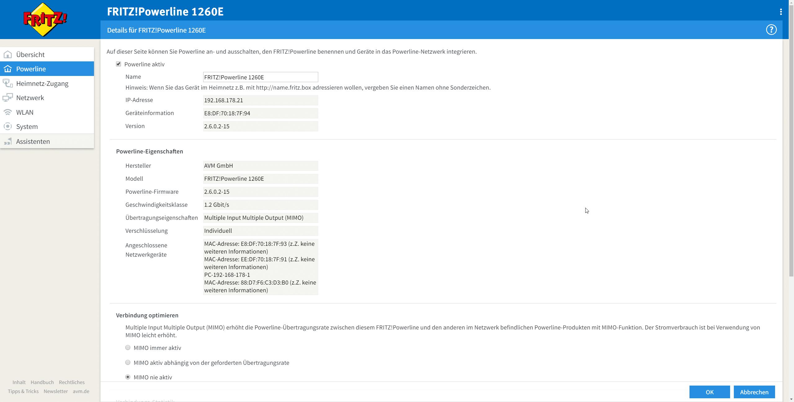 Avm Fritz Powerline 1260e Im Test Mesh Netzwerk Aus Der Steckdose