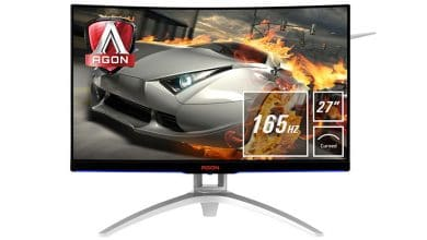 Photo of AOC AGON AG272FCX6: 165 Hz Curved Gaming Monitor Introduced