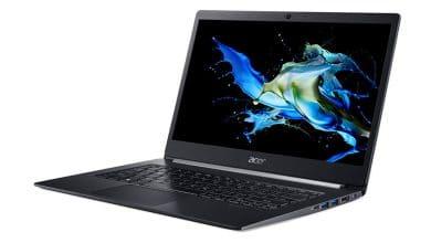 Bild von TravelMate X5 – das bislang leichteste und flachste Business-Notebook von Acer
