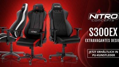 Photo of Der Gaming Stuhl Nitro Concepts S300 EX: Jetzt mit Kunstleder und verbessertem Design