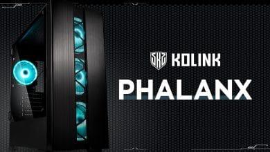 Bild von Kolink Phalanx: Günstiges Gehäuse mit Premium-Features