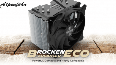 Photo of Alpenföhn Brocken ECO Advanced CPU Cooler: Top Cooling & Easy Installation