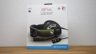 Bild von Sennheiser GSP 550 Gaming-Headset im Test