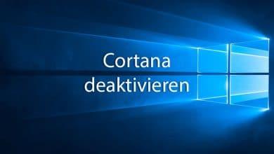 Photo of Windows 10: So kannst du Cortana deaktivieren