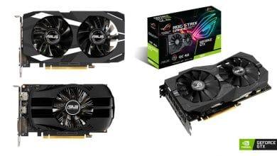 Bild von ASUS kündigt ROG Strix, Dual und Phoenix GeForce GTX 1650 Grafikkarten an