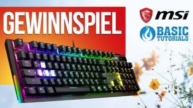 Bild von Ostergewinnspiel: MSI Vigor GK80 Gaming-Tastatur