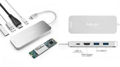 Photo of MINIX NEO Storage: USB-C-Adapter mit integrierter SSD