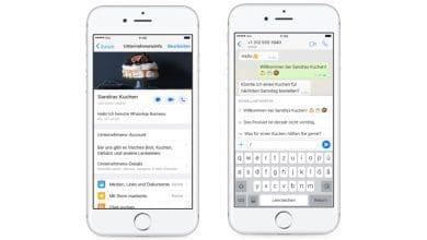 Photo of WhatsApp Business für iOS ab sofort auch in Deutschland verfügbar