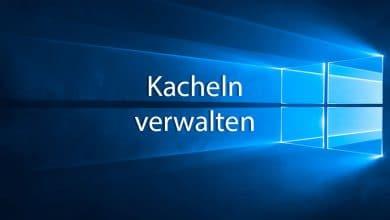 Photo of So könnt ihr in Windows 10 Kacheln erstellen und anpassen