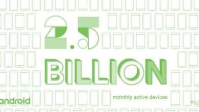 Bild von 2,5 Milliarden aktive Android-Geräte weltweit