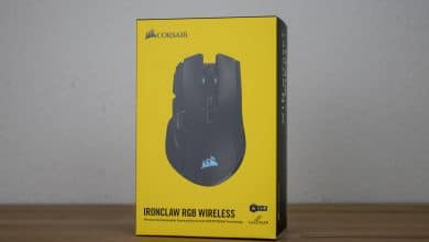 Bild von Corsair Ironclaw RGB Wireless Gaming-Maus im Test