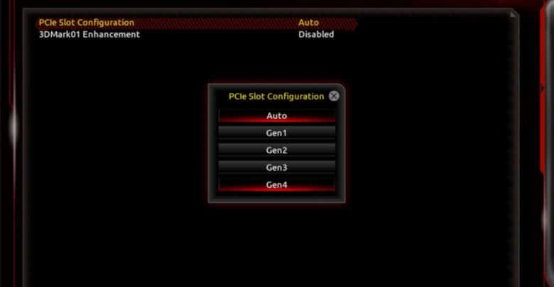 Gigabyte Mainboard PCIe 4.0 (Quelle Tomshardware.com)