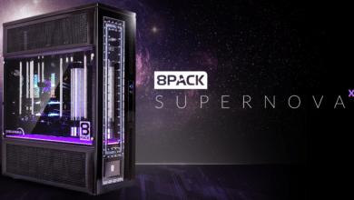 Bild von Limitierter High-End-PC 8Pack Supernova XL bei Caseking