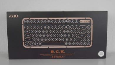 Photo of Azio Retro Compact Keyboard Review
