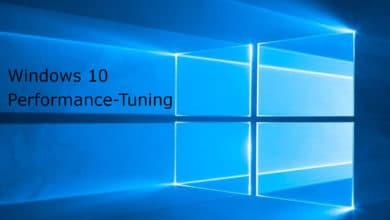 Photo of So geht's: Performance-Tuning für Windows 10