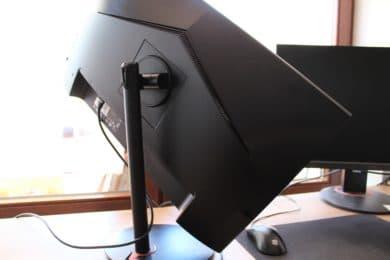 Monitor rotated