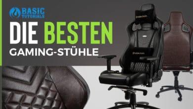 Photo of Sie stellen jeden Bürostuhl in den Schatten: Die 5 besten Gaming-Stühle 2019