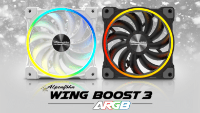 Bild von Alpenföhns Wing-Boost-3-Lüfter-Serie auch als High-Speed-Variante