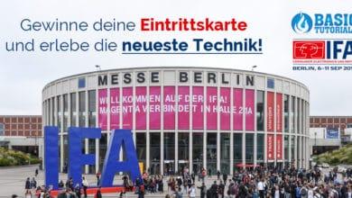 Photo of Nutze deine Chance! Wir verlosen 3×2 Tagestickets für die IFA Berlin!