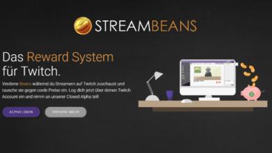 Photo of Kurz vorgestellt: Streambeans – Reward Programm für Twitch-Fans
