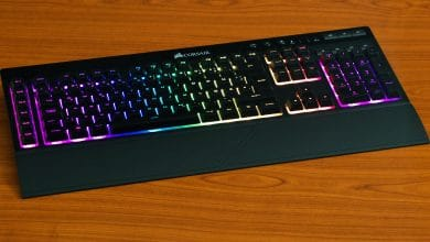 Photo of Corsair K57 RGB Wireless: Kabellose Tastatur mit Rubberdomes