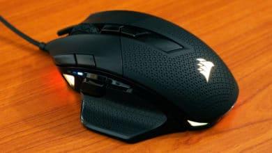 Bild von Corsair Nightsword RGB – Gaming-Maus mit besonderem Gewichtssystem
