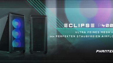 Photo of Phanteks Eclipse 400A: Midi-Tower mit verbessertem Airflow