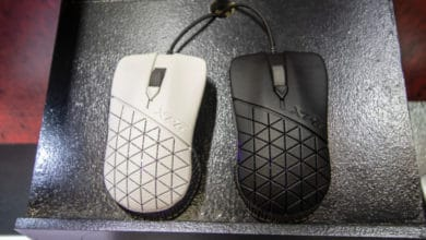 Photo of XPG Headshot Mouse Adapts Shape Individually to the User