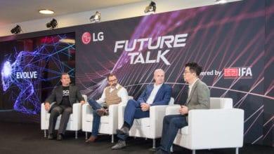 Bild von LG Future Talk auf der IFA: Künstliche Intelligenz für die Zukunft