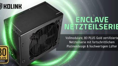 Photo of Preiswerte Kolink Enclave Netzteile mit 80 PLUS Gold Zertifizierung