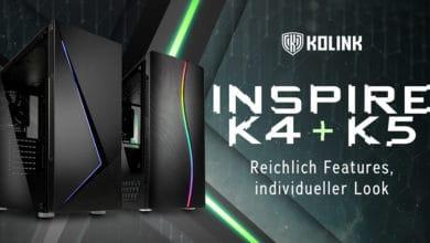 Bild von Preiswerte ATX-Gaming-Cases Kolink Inspire K4 & K5