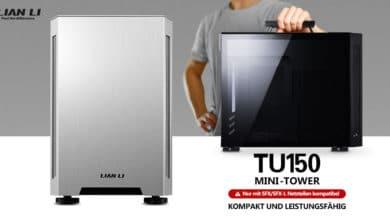 Photo of Lian Li TU150: Portables Mini-ITX-Gehäuse mit praktischem Tragegriff