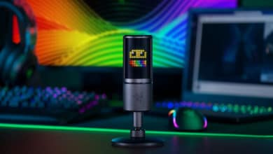 Photo of Razer Seiren Emote kombiniert Mikrofon und Emoji-Display