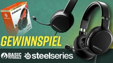 Bild von Gewinnspiel: Deine Chance auf das SteelSeries Arctis 1 Gaming-Headset!