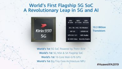 Photo of IFA 2019: Huawei Shows Kirin 990 SoC with 5G