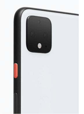 Google Pixel 4 in Clearly White