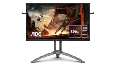 Bild von AOC AGON AG273QX Gaming-Monitor mit 165 Hz und FreeSync 2 vorgestellt