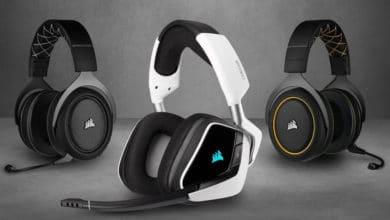 Bild von Corsair Void Elite, HS Pro & HS45 Gaming-Headsets vorgestellt