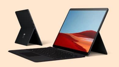 Bild von Microsoft zeigt Surface Pro X mit ARM-Prozessor