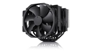 Photo of Noctua Chromax Black – Three Coolers Now Available in Black