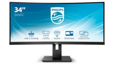 Photo of Philips 346B1C – 34-Zoll Curved-Monitor mit 100 Hz vorgestellt