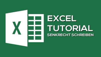 Bild von So kannst du in Microsoft Excel senkrecht schreiben
